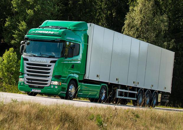 Scania a bionafta v roce 2014