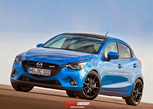 Mazda 2 MPS: Jak by mohla vypadat?
