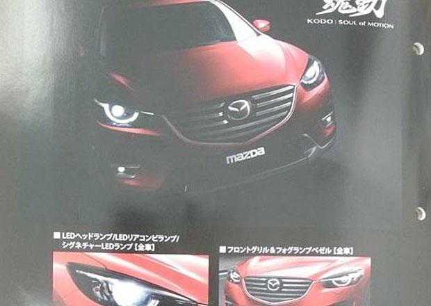 Modernizovaná Mazda CX-5: První fotky unikly na internet
