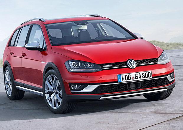 Volkswagen Golf: V osmé generaci také jako SUV