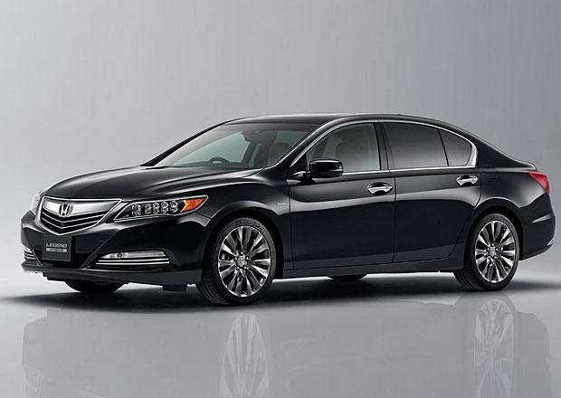 Honda Legend 2015: Prestižní sedan má 382 koní a 460 N.m