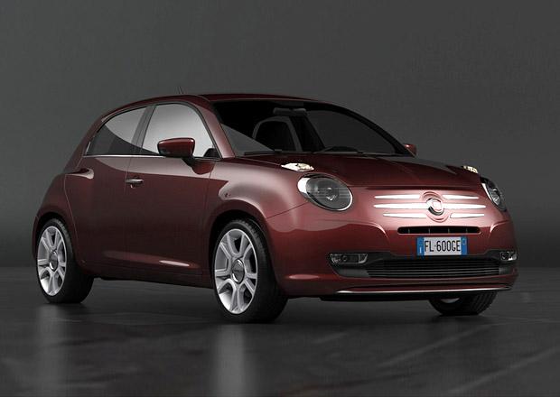 Fiat 600 Design Concept: Vize nástupce Punta