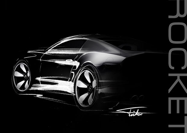 Fisker Rocket: Bývalý šéfdesignér Aston Martinu chystá muscle car