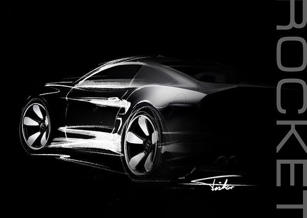 Fisker Rocket: B�val� ��fdesign�r Aston Martinu chyst� muscle car