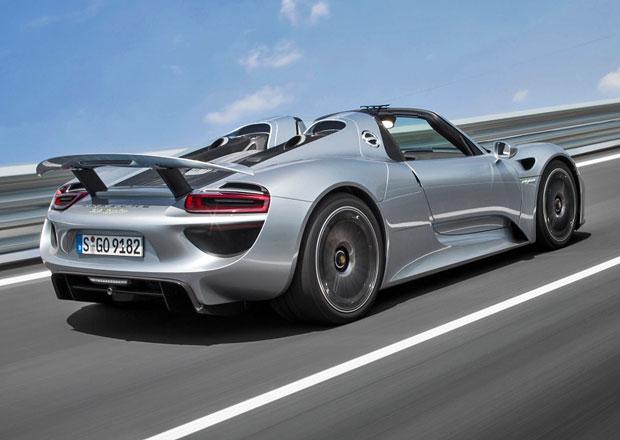 Porsche 918 Spyder bude stát asi 21,2 milionu korun