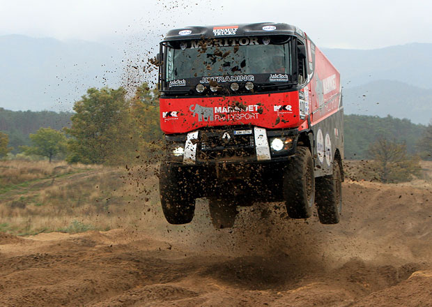 MKR Technology před Dakarem (+video)