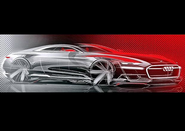 Audi Prologue: Koncept A9 se odhaluje na skicách těsně před premiérou