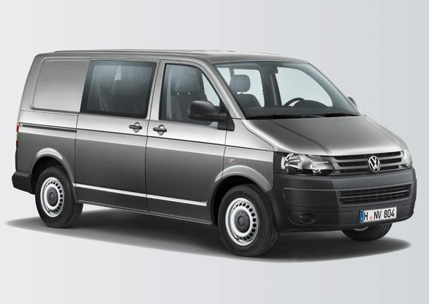Volkswagen Transporter Doka Plus pro náklad i cestující
