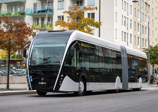 Scania Van Hool Exqui.City: Autobus s vizáží tramvaje (+video)