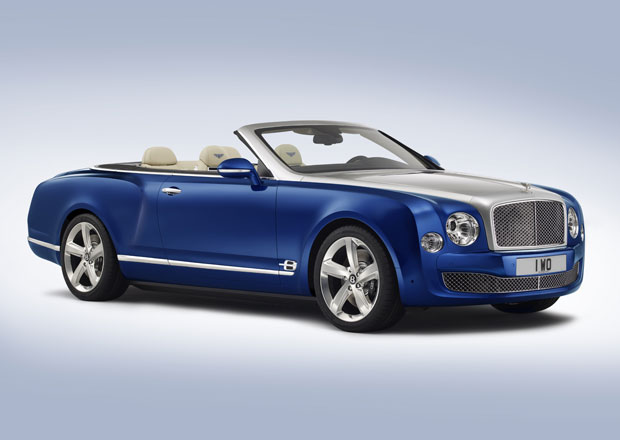 Bentley Grand Convertible: Koncept luxusního kabrioletu