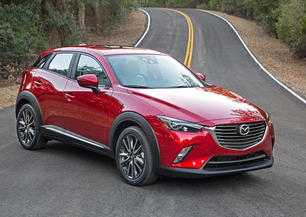 Mazda CX-3 oficiálně: Nový turbodiesel, větší bezpečnost i zábava