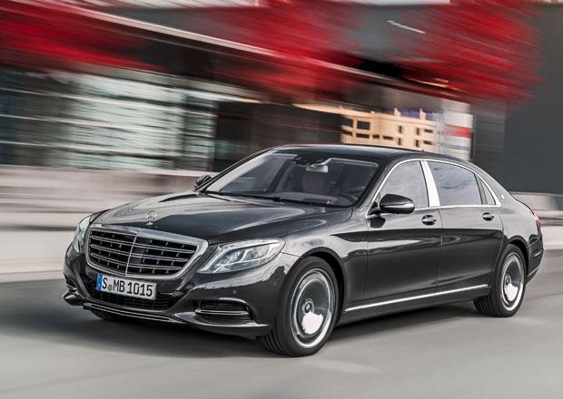 Mercedes-Maybach S: Kdy� v�m oby�ejn� t��da S nesta��