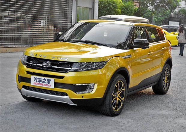 Landwind X7: Levná čínská kopie Range Roveru Evoque