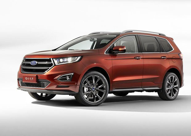 Ford Edge dostal další řadu sedadel, aby splnil čínská kritéria