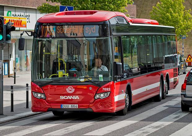 Hybridní autobus Scania Citywide Euro 6 na bionaftu