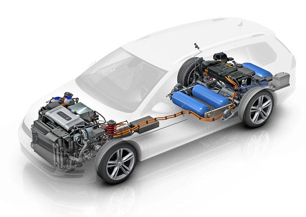VW Golf SportWagen HyMotion: Vodík pro všechny