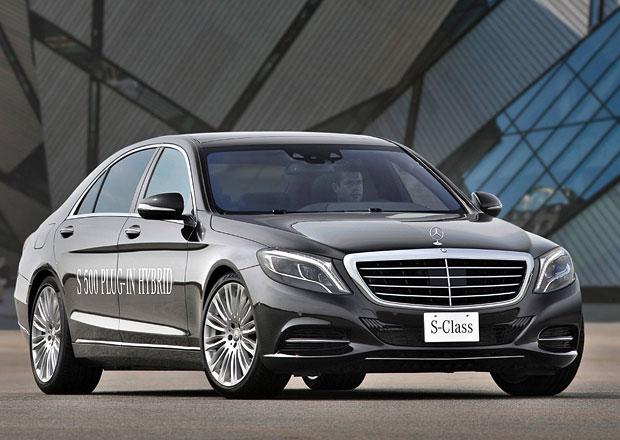 Mercedes-Benz S 550 Plug-in Hybrid: 325 kW a přes 30 km na elektřinu