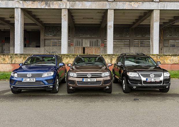 Volkswagen Touareg: Srovnání generací