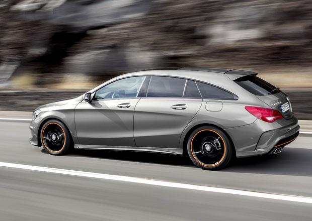 Mercedes-Benz CLA Shooting Brake: Stylové kombi je venku, včetně verze AMG