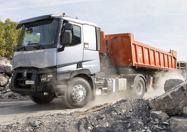 Renault Trucks nabízí OptiTrack pro řadu C