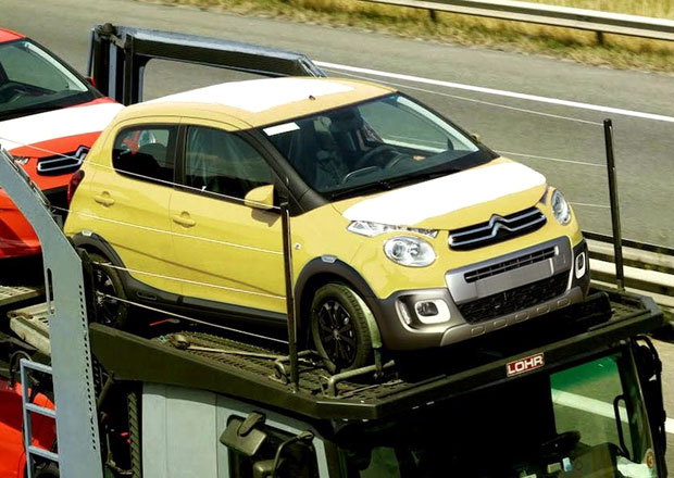 Citroën C1 Urban Ride spatřen při převozu, je to předzvěst sériové výroby?
