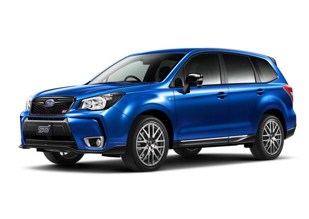 Subaru  Forester tS: SUV s geny STI