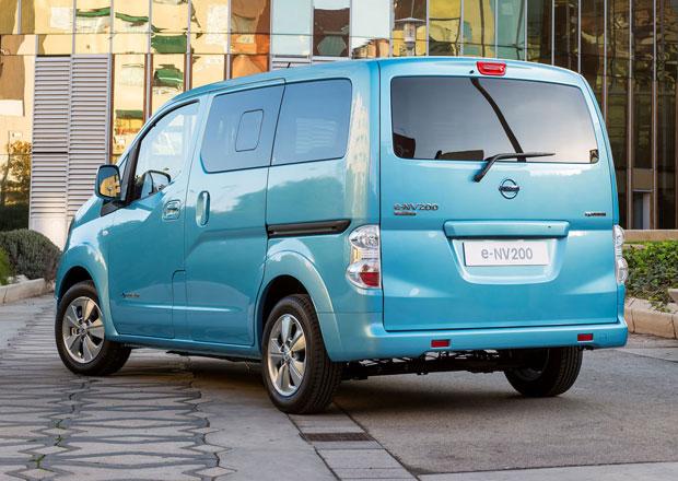Nissan e-NV200: Elektrická dodávka stojí 871.200 Kč
