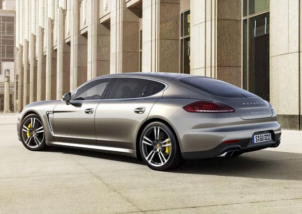 Porsche Panamera II bude tak� jako kup� a kombi