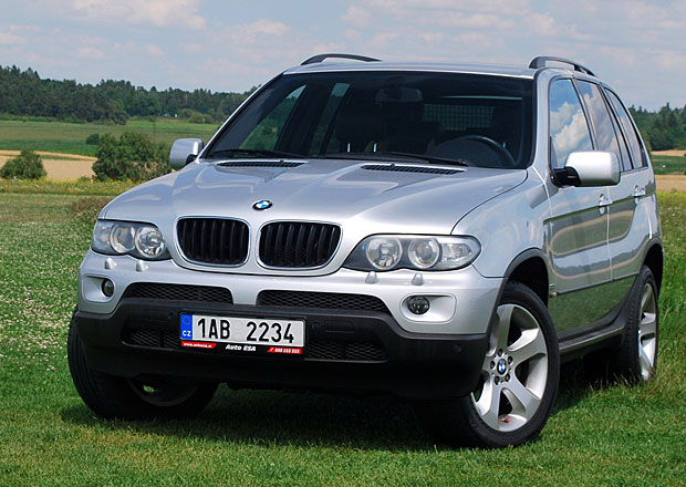 Ojeté BMW X5: Hledejte diesel po faceliftu