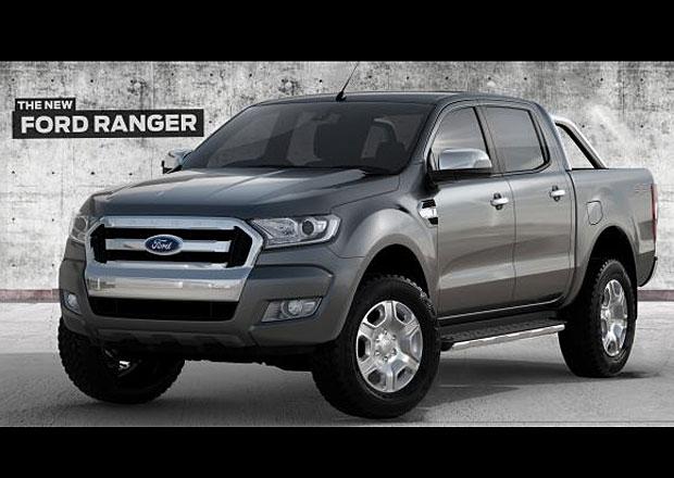 Video: Faceliftovaný Ford Ranger se odhaluje