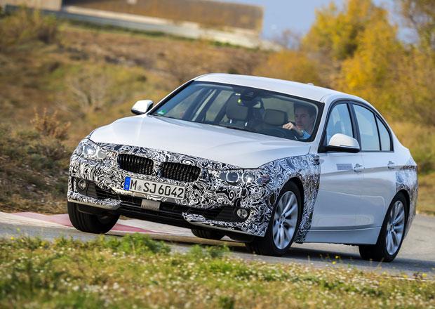 BMW 3 plug-in hybrid ukazuje modernizovanou podobu trojky