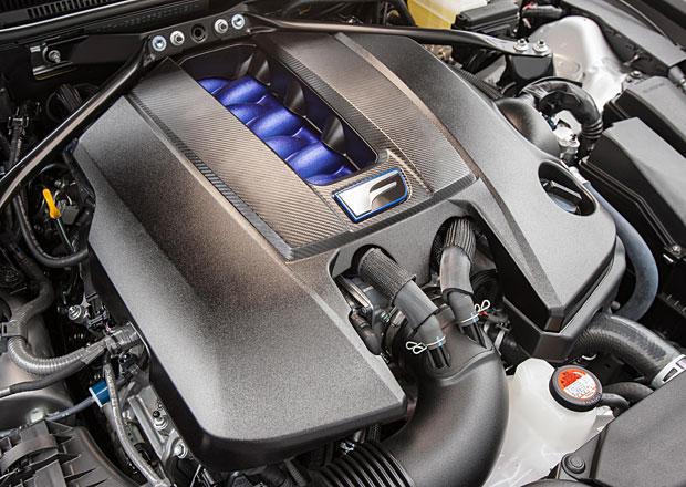 Lexus RC F: Nejsilnější osmiválec značky má 477 koní