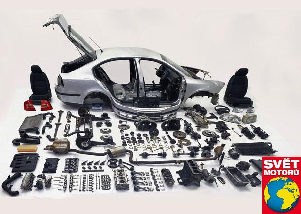 Škoda Octavia: Kompletní rozborka po 500.000 km
