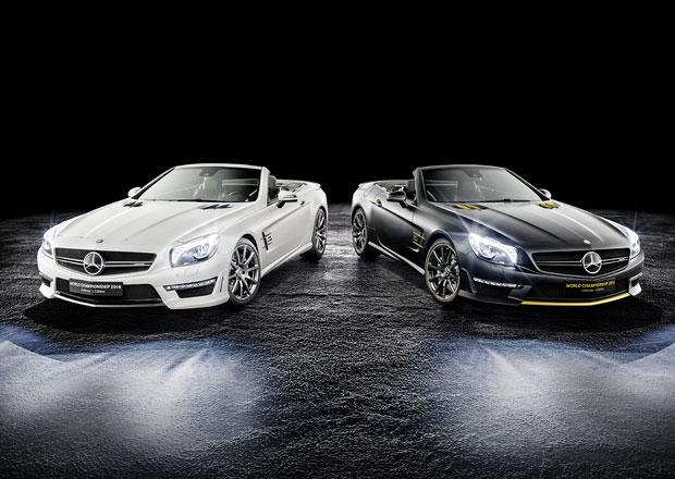 Mercedes-Benz slaví titul v F1 speciálním SL 63 AMG