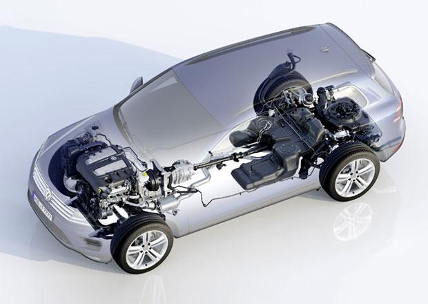 Volkswagen Touareg: Technika na úrovni doby