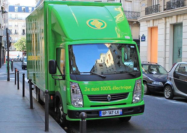 Renault Trucks Maxity Electric v Paříži