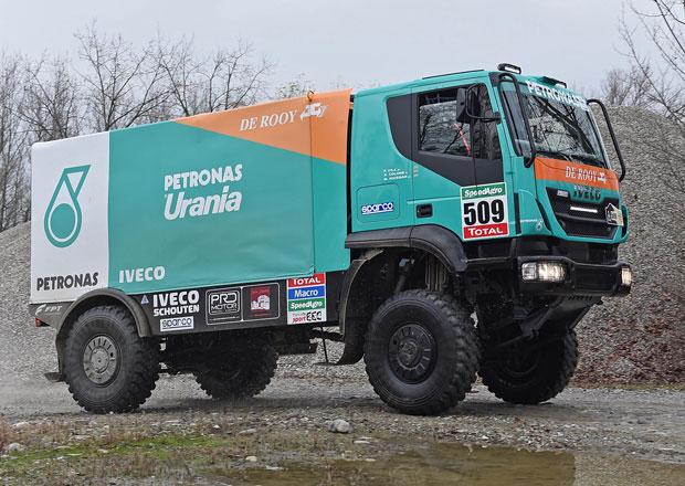 Iveco a De Rooy spole�n� na Dakar 2015 (2x video)