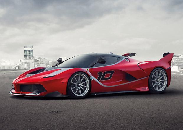 Ferrari FXX K: 1050 okruhov�ch kon� z Maranella odhaleno v p�edpremi��e