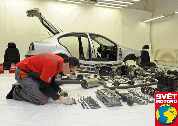 Nové poznatky o voze Škoda Octavia II: Co vše prozradila rozborka?