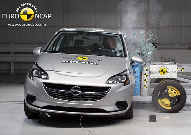 Euro NCAP 2014: Opel Corsa má tentokrát čtyři hvězdy