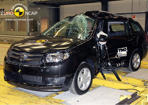 Euro NCAP 2014: Dacia Logan MCV hl�s� slab�� ochranu pos�dky
