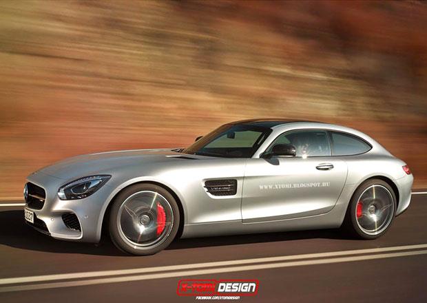Mercedes-AMG GT Shooting Brake je zajímavost, co nejspíše nevznikne