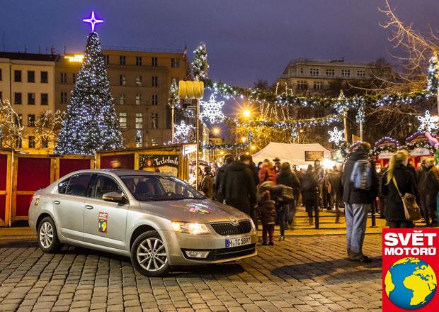 Autem na vánoční trhy