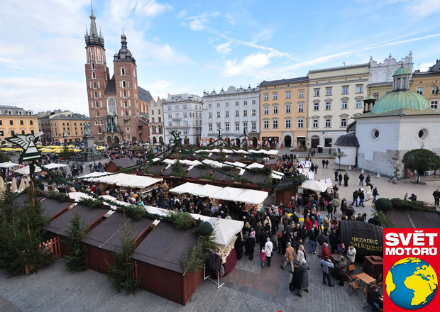 Advent v Krakově: Město králů