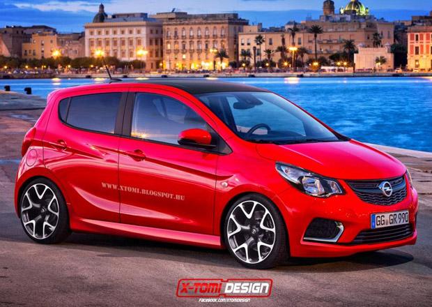 Opel Karl OPC: Takhle si jej představuje X-Tomi