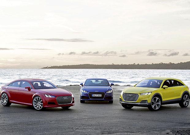 """Galerie: """"TTrio"""" karosářských variant Audi TT, dvě jen jako koncept"""