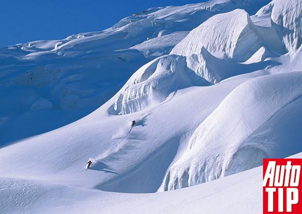 Chamonix: Tradiční areál plný výhledů