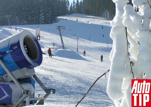 Bublava/Stříbrná: Pohodové lyžování