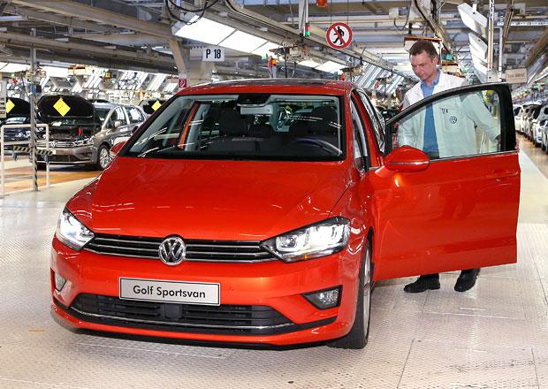 Volkswagen Golf Plus/Sportsvan: Nafouklý Golf slaví milion