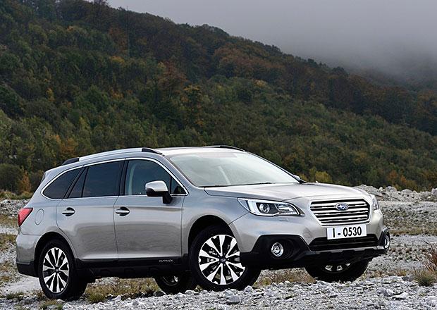 Subaru Outback: Japonský horal od ledna i v Evropě